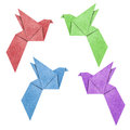 Free Origami Bird Stock Photography - 24612972