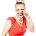 Free Smiling Beautiful Woman Stock Photography - 24613992