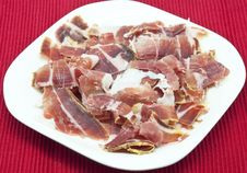 Free Spanish Ham Royalty Free Stock Photos - 24611808