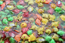 Free Plastic Fish In Water Stock Photo - 24611810