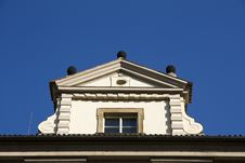 Free Top Of The House Royalty Free Stock Image - 24612086