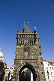 Free Charles Bridge Royalty Free Stock Image - 24612566