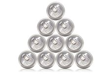 Free Many Cans Of Cold Beer Royalty Free Stock Photo - 24613345