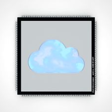 Free Cloud Computing Royalty Free Stock Image - 24618526