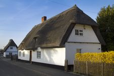 Free Thatched Houses Royalty Free Stock Photo - 24618965