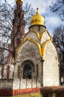 Chapel In Novodevichy Convent Stock Photography