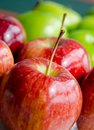 Free Red Apple Close Up Stock Photography - 24623142