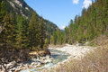 Free Mountains And River Stock Photography - 24628182