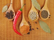 Free Spices Royalty Free Stock Photography - 24620387