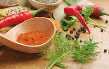 Free Spices Royalty Free Stock Photos - 24620438