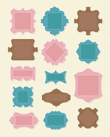 Free Scrapbooking Elements Royalty Free Stock Photo - 24621665
