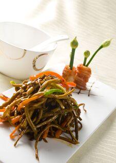 Chinese Food Braised Eel Royalty Free Stock Image