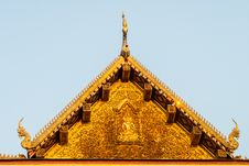 Free Temple Roof Stock Photography - 24621752