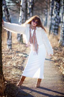 Free The Beautiful Girl Stock Image - 24621821