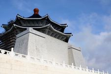 Free Chiang Kai-Shek Memorial, Taiwan Stock Photography - 24623692