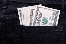 Free Money In Pocket Stock Images - 24625834
