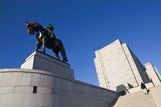 Free National Memorial - Jan Zizka Royalty Free Stock Image - 24627646