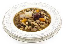 Kidney Bean Soup Stock Photo