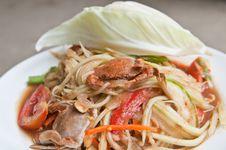 Free Thaifood Royalty Free Stock Photos - 24630708