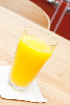 Free A Glass Of Orange Juice Stock Photo - 24631530