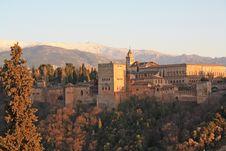 Free Alhambra Of Granada Royalty Free Stock Photo - 24632675