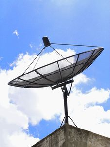 Free Satellite Dish Royalty Free Stock Photography - 24633007