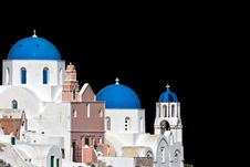 Free Ready Cropped Traditional Greek Church Stock Images - 24633154