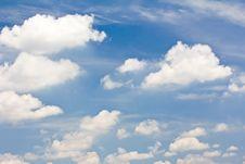 Free Blue Sky. Stock Photography - 24634172