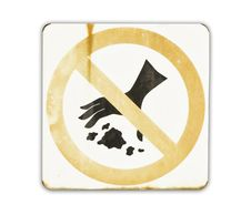 Free No Littering Sign Royalty Free Stock Images - 24634219