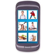 Free Phone, Cell Phone, Touch Screen Stock Images - 24637124