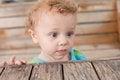 Free Portrait Of Sad Boy Stock Image - 24644841