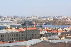 Free View Of The City From A Height Royalty Free Stock Photos - 24643478