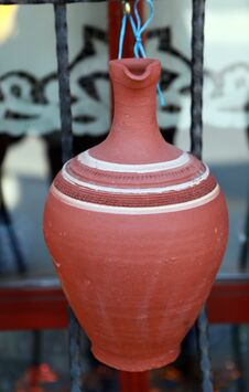 Free Anatolian Earthenware Jug Stock Photo - 24643560