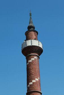 Free The Minaret Of Kantarcilar Mosque, Istanbul. Royalty Free Stock Photography - 24643627