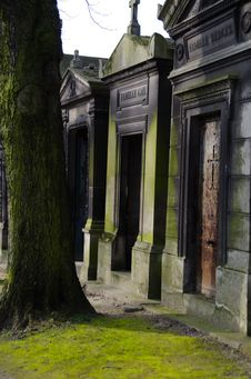 Pere Lachaise Stock Images