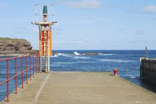 Free Eyemouth Harbour Entrance , Berwickshire Stock Images - 24645864