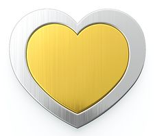 Free Two Hearts Stock Images - 24647134