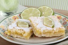 Free Two Lime Bars Stock Photo - 24648050