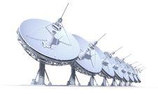 Free Radio Telescopes Royalty Free Stock Photo - 24649025