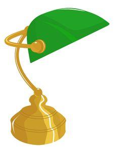 Free Classical Desk Lamp Stock Image - 24652101