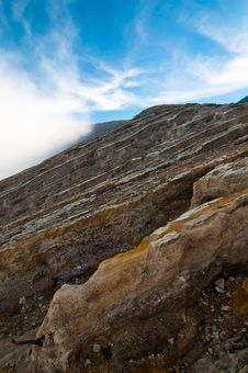 Free Volcano Ijen Crater Royalty Free Stock Photography - 24654737