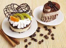 Free Cakes Royalty Free Stock Photo - 24655625