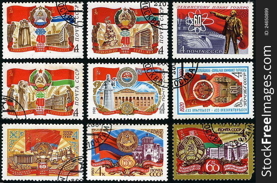 60 years of Soviet Socialist Republics