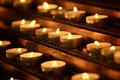 Free Burning Candles Royalty Free Stock Photography - 24662257