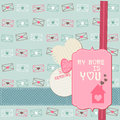 Free Cute Love Card - For Valentine&x27;s Day Stock Images - 24663854