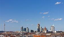 Vienna Skyline Royalty Free Stock Photo