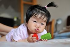 Free Baby Girl Royalty Free Stock Photography - 24661097