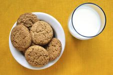 Free Oat Cookies Stock Photo - 24663160