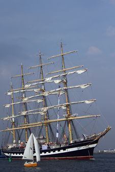 Free Sailing Ships &x28;worldwide Parade&x29; Royalty Free Stock Photos - 24663508