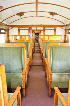 Free Old 2nd Class Wagon Cabin Royalty Free Stock Images - 24663669
